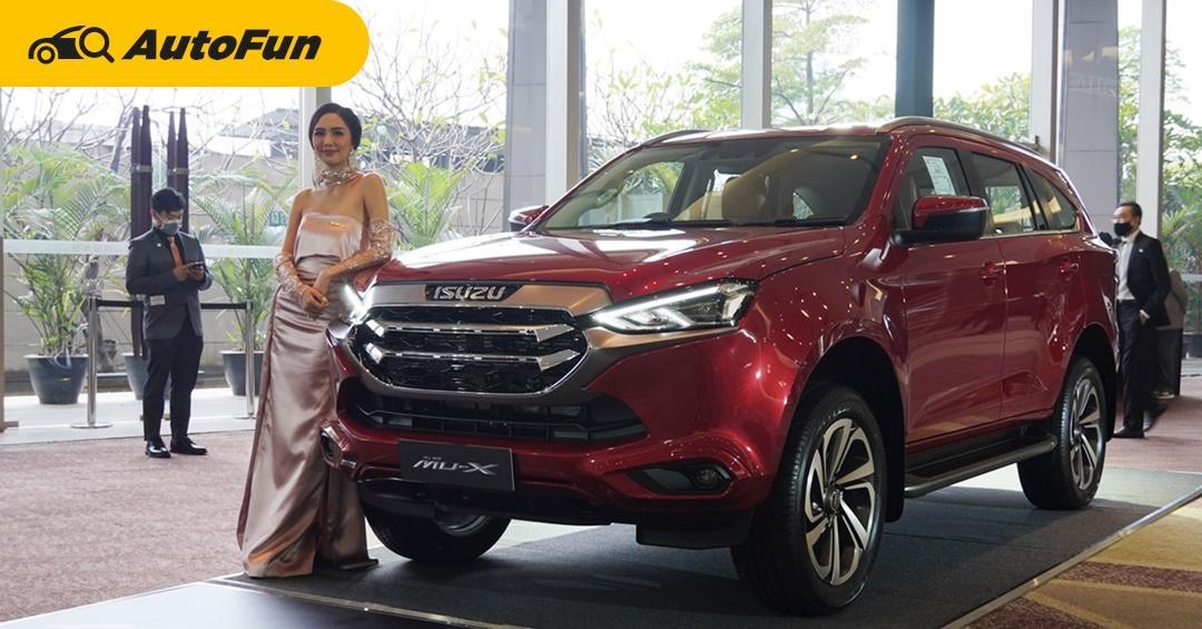 Pros and Cons: 2021 Isuzu MU-X สิ่งที่เด่นและด้อยเมื่อเทียบกับ Toyota Fortuner และ Mitsubishi Pajero Sport 01