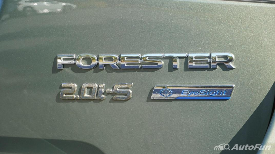2020 Subaru Forester 2.0i-S EyeSight GT Exterior 024