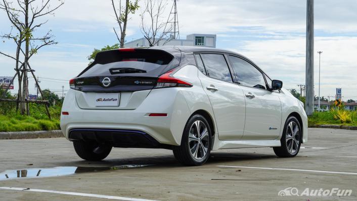 2020 Nissan Leaf Electric Exterior 005