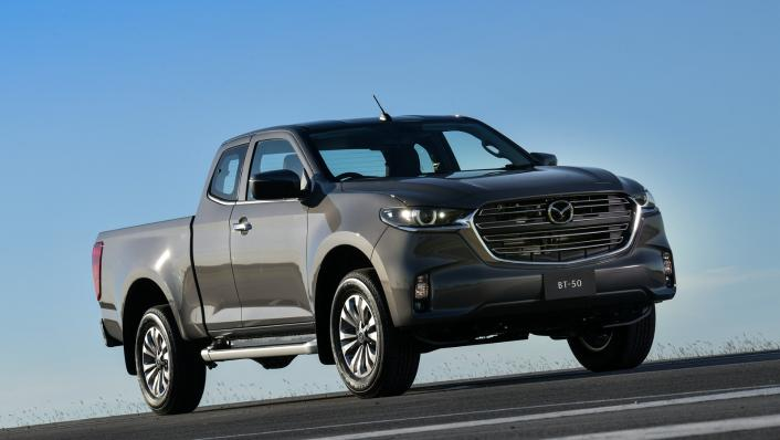 2021 Mazda BT-50 Freestyle cab Upcoming Version Exterior 005