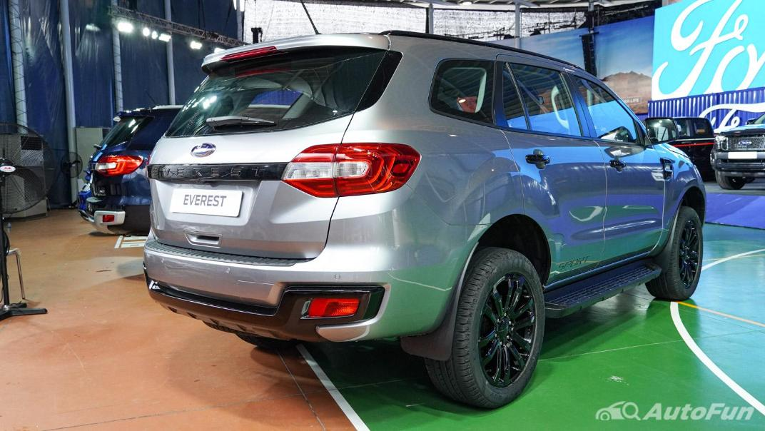 2021 Ford Everest Titanium+ Exterior 013