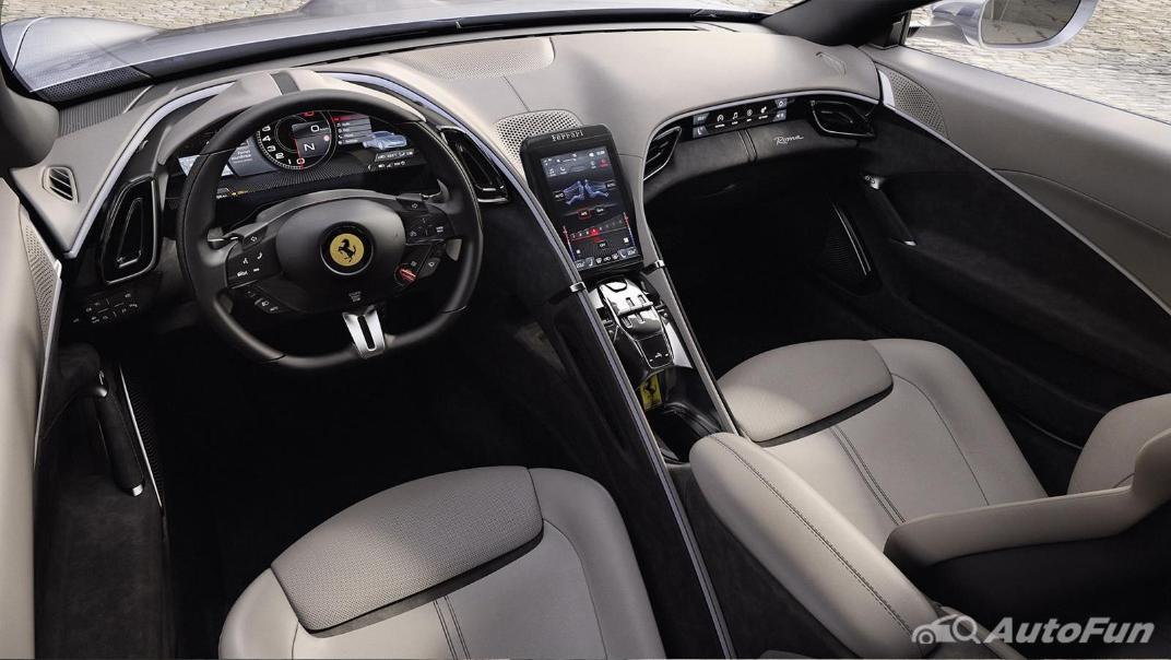2020 3.9 Ferrari Roma Turbo Interior 001