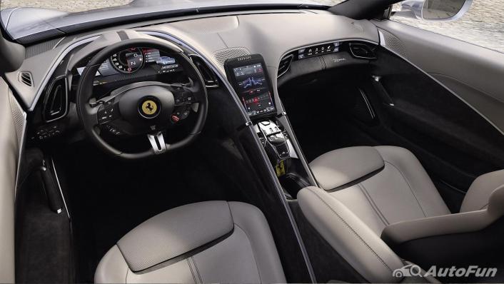 2020 Ferrari Roma 3.9 Turbo Interior 001