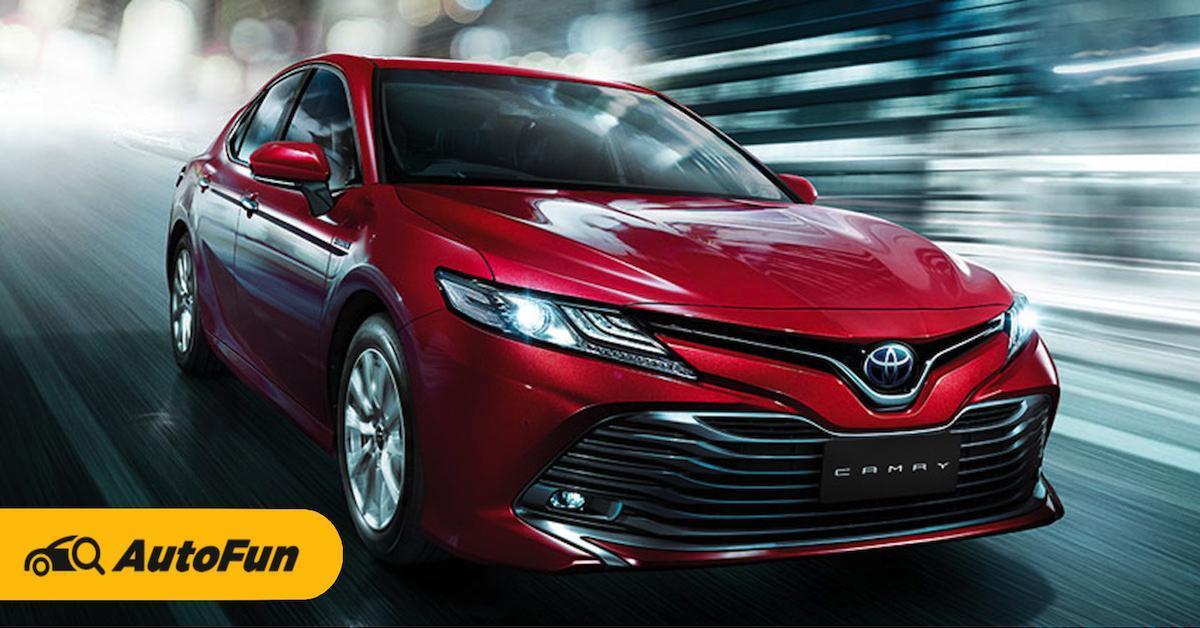 Toyota Camry ซีดานดีไซน์สปอร์ต พร้อมสมรรถนะขับขี่โดนใจ ราคาเริ่ม 1.455 ล้านบาท 01