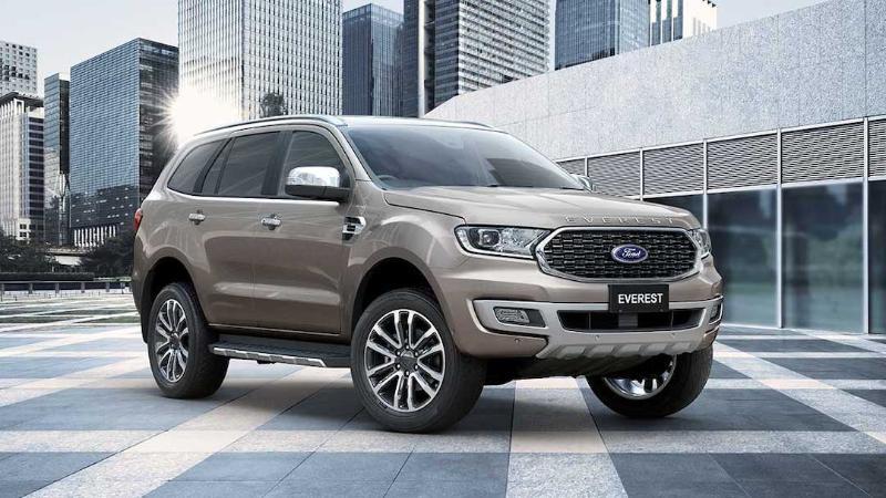 2021 Ford Everest เปิดตัวรุ่นใหม่จะสู้คู่แข่งอย่าง Toyota Fortuner ได้ไหม? 02