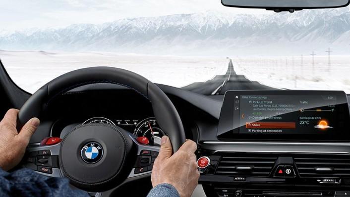 BMW M5-Sedan 2020 Interior 002