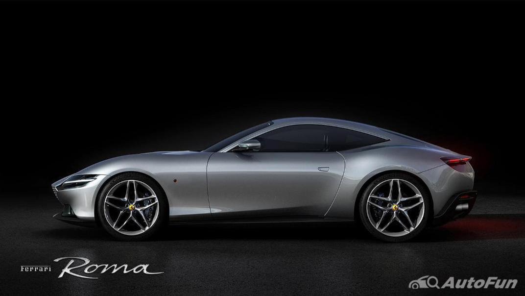 2020 3.9 Ferrari Roma Turbo Exterior 003