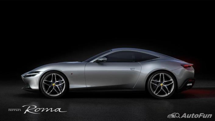 2020 Ferrari Roma 3.9 Turbo Exterior 003