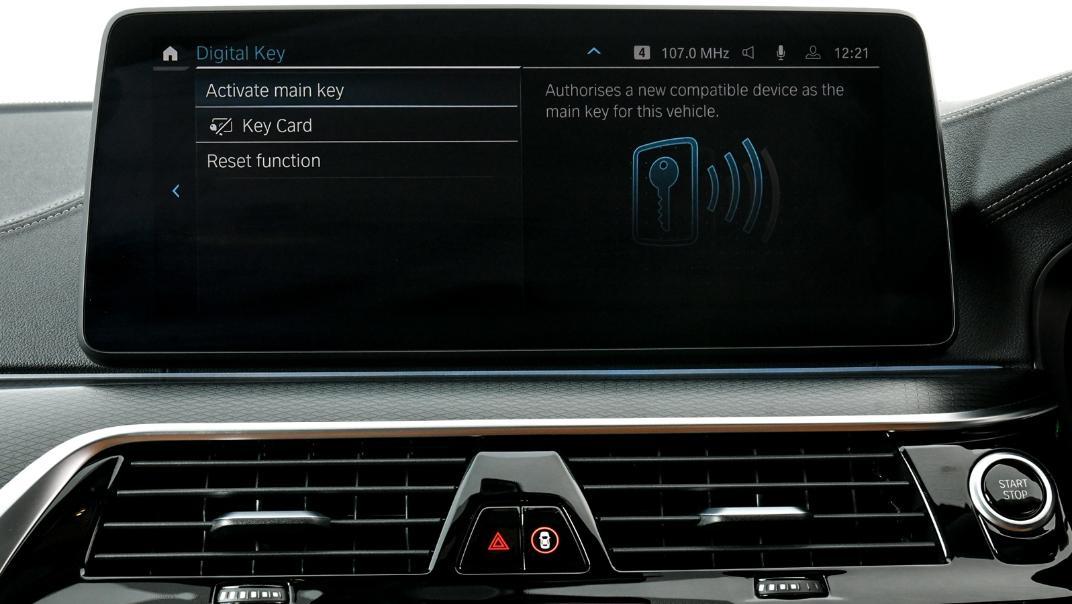 2021 BMW 5 Series Sedan 530e M Sport Interior 030
