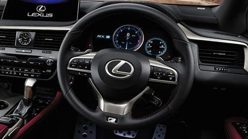 Lexus RX 2020 Interior 003