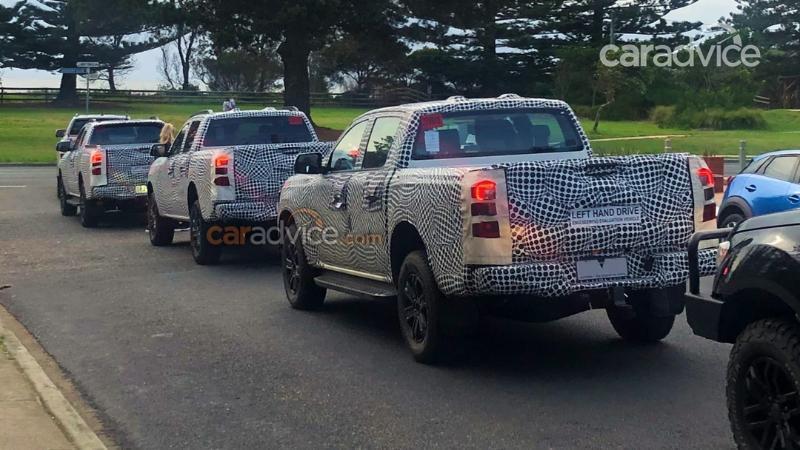 2022 Ford Ranger เริ่มวิ่งทดสอบที่ออสเตรเลีย ทั้งตัวถังโอเพ่นแค็บและ 4 ประตู 02