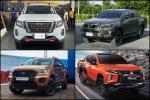 เทียบกระบะขับสี่ตัวแต่ง 2021 Navara, Revo, Ranger, Triton ต่างกันทุกแบบ แซ่บอย่างสูสี