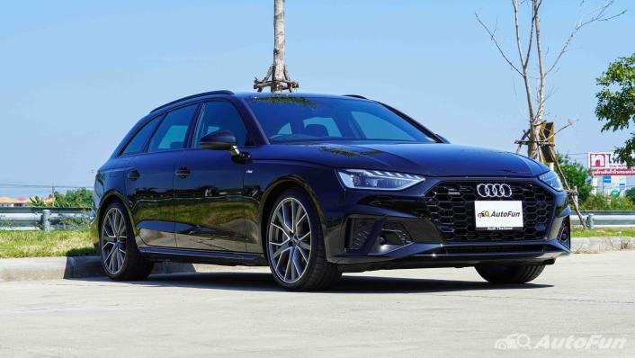 2020 Audi A4 Avant 2.0 45 TFSI Quattro S Line Black Edition Exterior 003