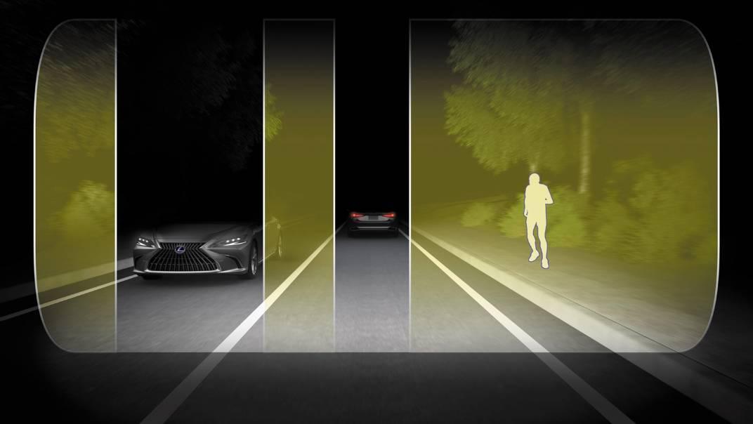 2021 Lexus ES 300h Premium Exterior 012