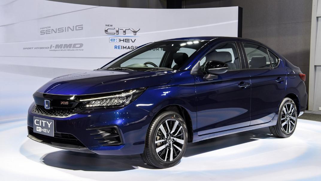 2021 Honda City e:HEV RS Exterior 050