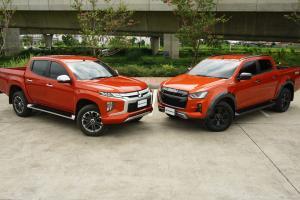 Isuzu D-Max V-Cross VS Mitsubishi Triton รุ่นใหม่กว่าต้องดีกว่า จริงรึเปล่า?