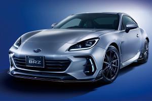 พาชม 2022 Subaru BRZ พวงมาลัยขวา หล่อด้วยชุดแต่ง STI หวือหวาข่ม Toyota GR 86