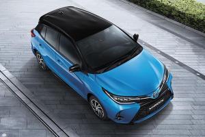วัดมวย 2020 Toyota Yaris เทียบสเปก 2019 Mitsubishi Mirage อีโคคาร์แฮทช์แบ็กรุ่นเล็ก