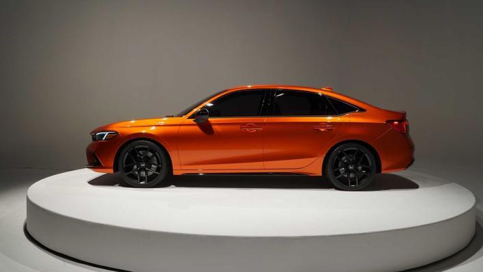 2021 Honda Civic International Version Exterior 006