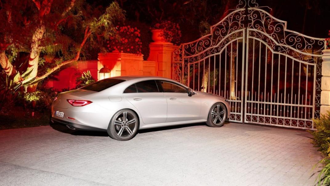 Mercedes-Benz CLS-Class Coupe Public 2020 Exterior 003