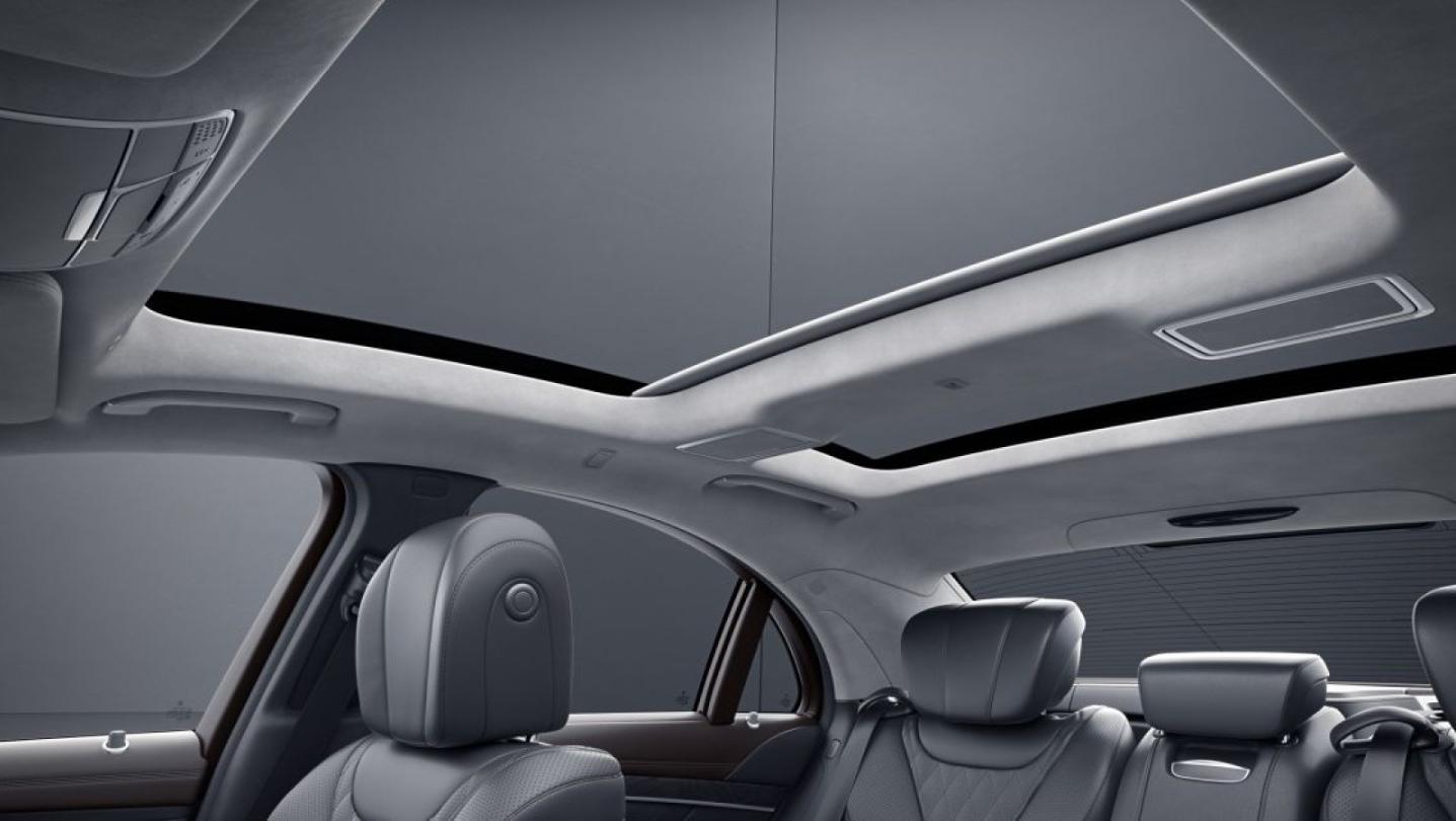 Mercedes-Benz S-Class 2020 Interior 013
