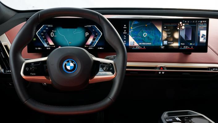 2021 BMW iX xDrive50 Sport Interior 004