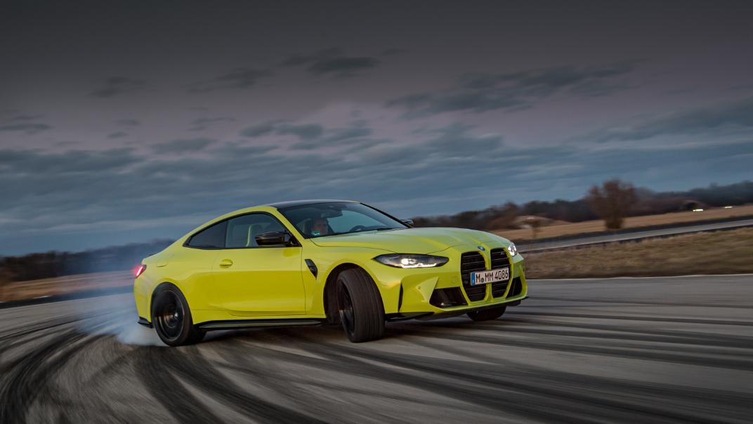 2021 BMW M4 Coupe Competition Exterior 019