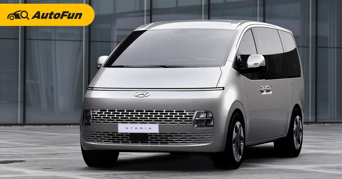 พาชม 2022 Hyundai STARIA รถเอ็มพีวีตัวแทน H1 สุดล้ำไว้ขย้ำ Kia Carnival 01
