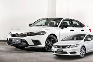 เจ้าของรถ Honda Civic FB มีเหตุผล 8 ข้อ ที่ควรเปลี่ยนรถเป็น 2021 Honda Civic FE ได้แล้ว