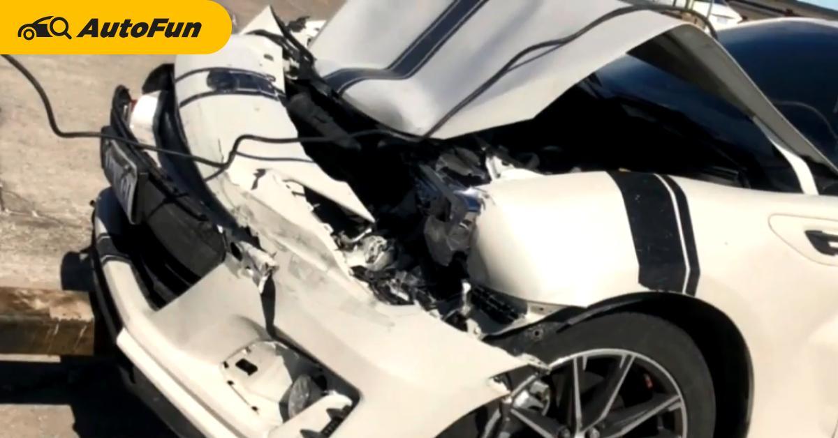รถชนแล้วประกันไม่จ่าย เพราะเจ้าของใส่ท่อไอเสียเพิ่ม แต่งรถยังไงให้เสียตังค์ 800,000 บาท 01