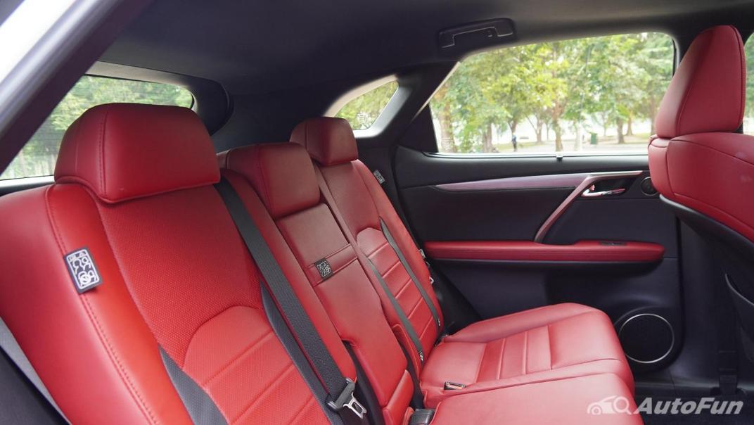 2020 Lexus RX 3.5 350 F Sport Interior 045