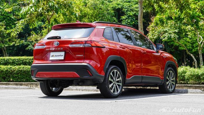 2020 1.8 Toyota Corolla Cross Hybrid Premium Safety Exterior 009