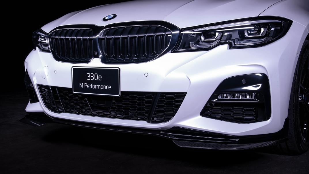 2021 BMW 3 Series Sedan 330e M Sport Exterior 004