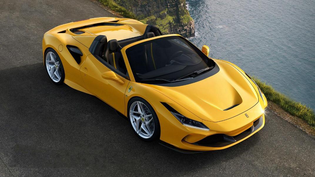 2020 3.9 F8 Spider V8 Turbo Exterior 004