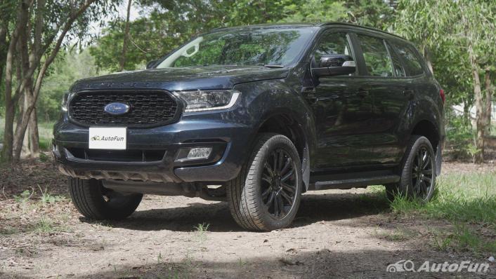 2021 Ford Everest 2.0L Turbo Titanium 4x2 10AT - SPORT Exterior 001