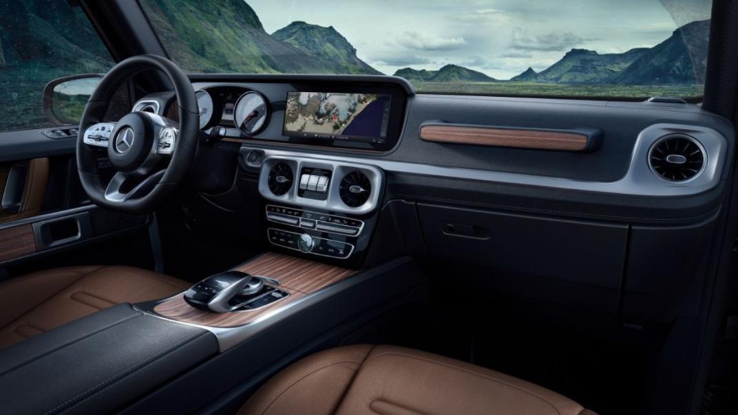 Mercedes-Benz G-Class 2020 Interior 018