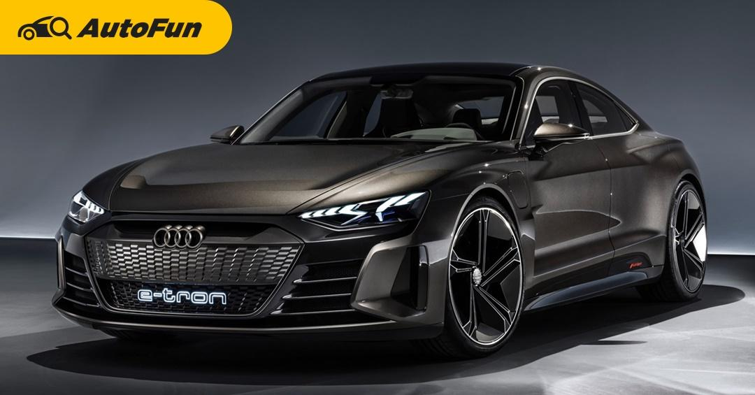 2021 Audi e-tron GT เตรียมบุกไทยปีนี้ พร้อมตระกูล RS อีกหลายรุ่น 01