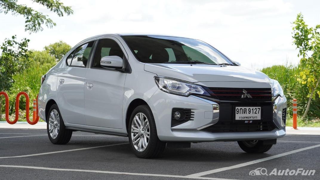 2020 1.2 Mitsubishi Attrage GLS-LTD CVT Exterior 003