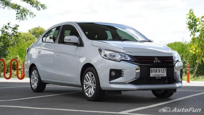 2020 Mitsubishi Attrage 1.2 GLS-LTD CVT Exterior 003