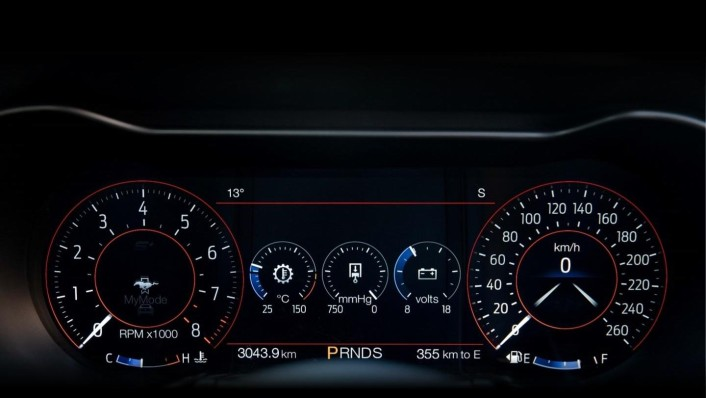 Ford Mustang 2020 Interior 006