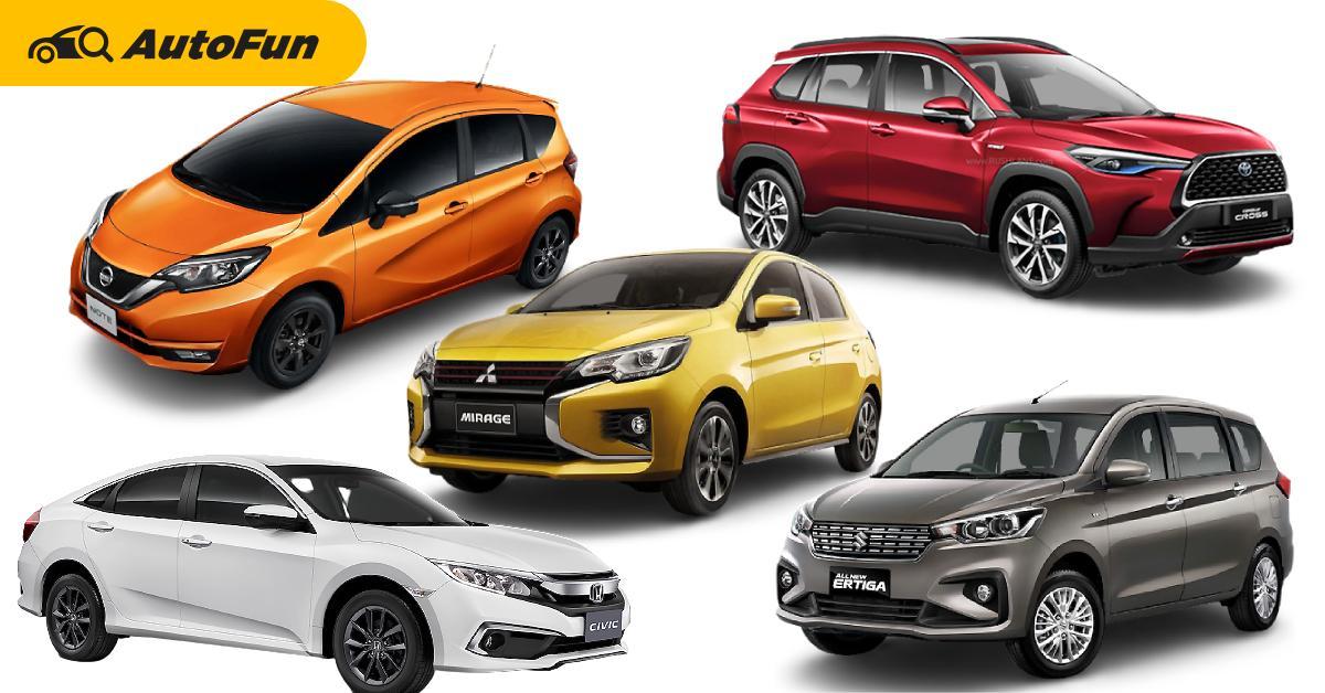 Top 5 รถรุ่นฮิต ที่ควรนำไปวิ่งรับจ้างผ่านแอป รวมรุ่นที่ไม่เคยเป็นแท็กซี่ วันนี้ทำได้แล้ว 01