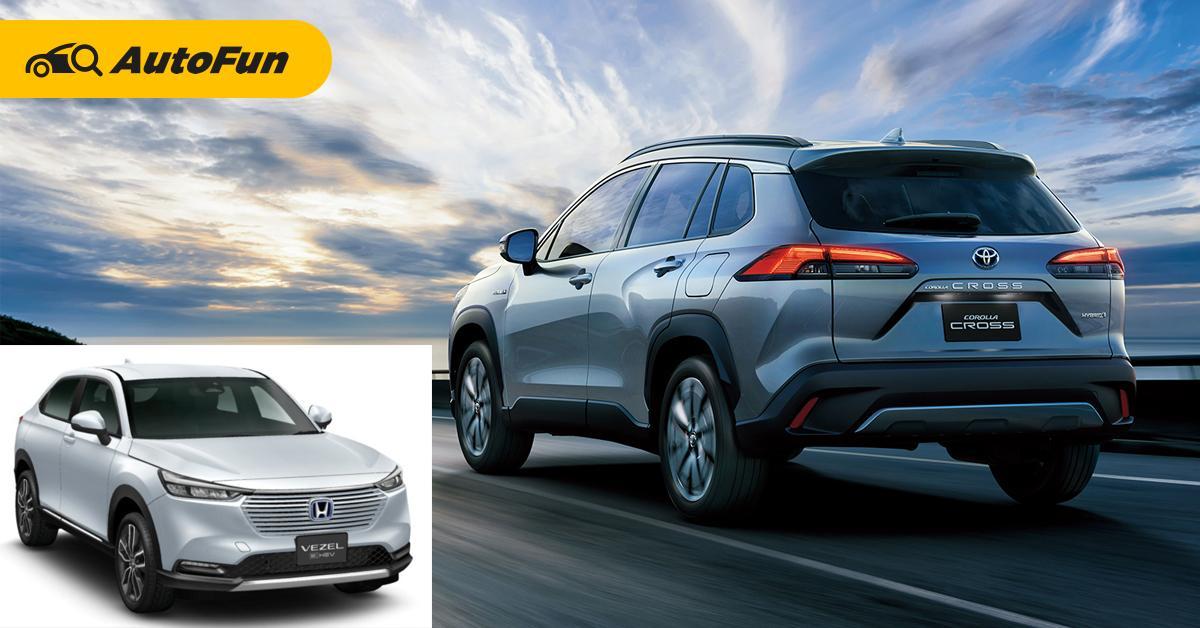 2020 Toyota Corolla Cross ทำยอดขายนำโด่ง 2021 Honda HR-V ใหม่จะสู้ได้ไหม? 01