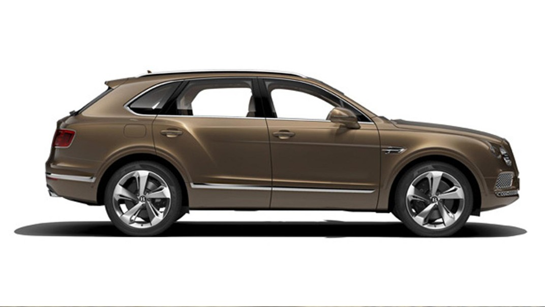 Bentley Bentayga Public 2020 Exterior 007