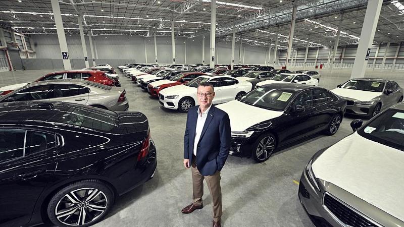 Volvo ไม่ยอมตากแดด ลงทุนพันล้าน สร้างโกดังสต็อครถ 550 คัน พร้อมห้องแอร์แช่อะไหล่ในไทย 02