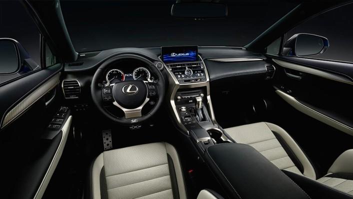 Lexus NX Public 2020 Interior 001