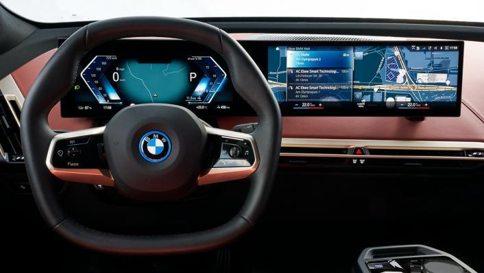 2021 BMW iX xDrive50 Sport Interior 003