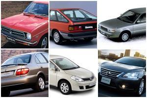 เจาะเวลากับบอริส Nissan Sunny Sentra Tiida และ Sylphy คอมแพคที่แสนดี
