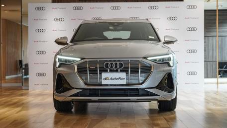ราคา 2020 Audi E Tron Sportback 55 quattro S line ใหม่ สเปค รูปภาพ รีวิวรถใหม่โดยทีมงานนักข่าวสายยานยนต์ | AutoFun