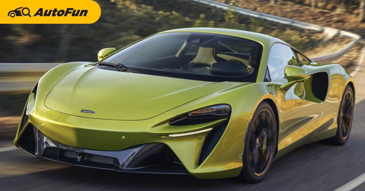 6 สิ่งที่เรารู้เกี่ยวกับ McLaren Artura ไฮบริดราคาเมืองนอกแค่ 7 ล้านบาท ลุ้นเปิดราคาไทยพรุ่งนี้!!! 01