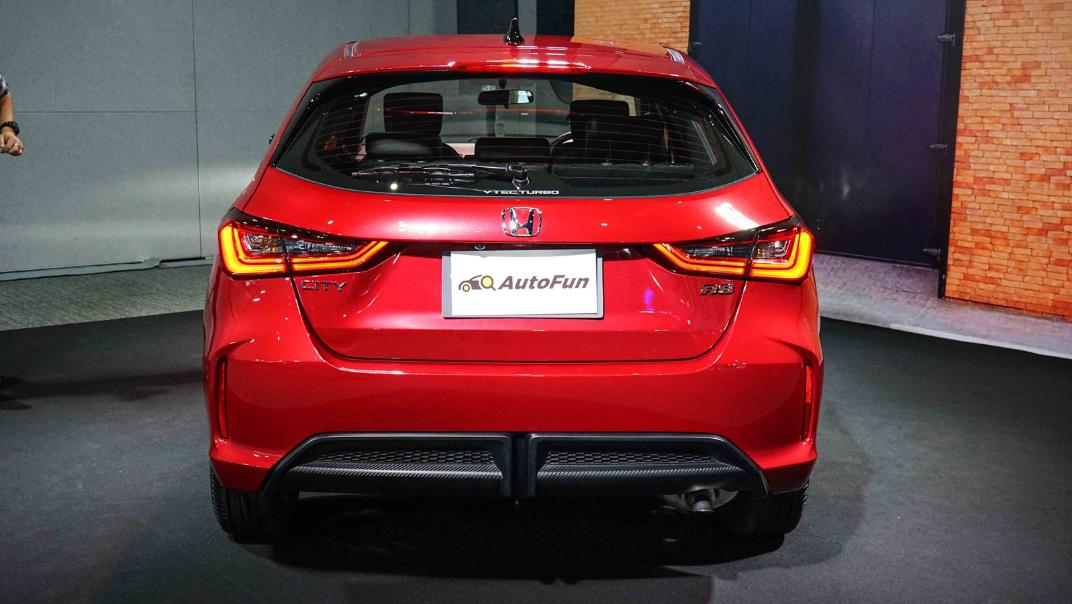 2021 Honda City Hatchback 1.0 Turbo RS Exterior 050